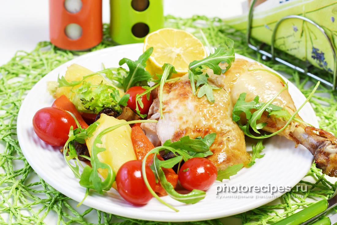 Рыба запеченная целиком с овощами в духовке рецепт 5