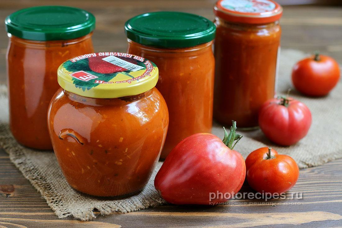 Томатный кетчуп - домашний