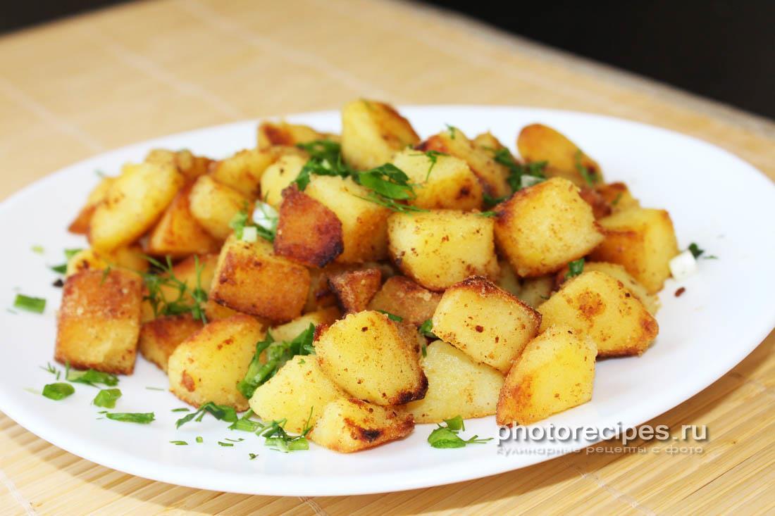 Варено-жареная картошка