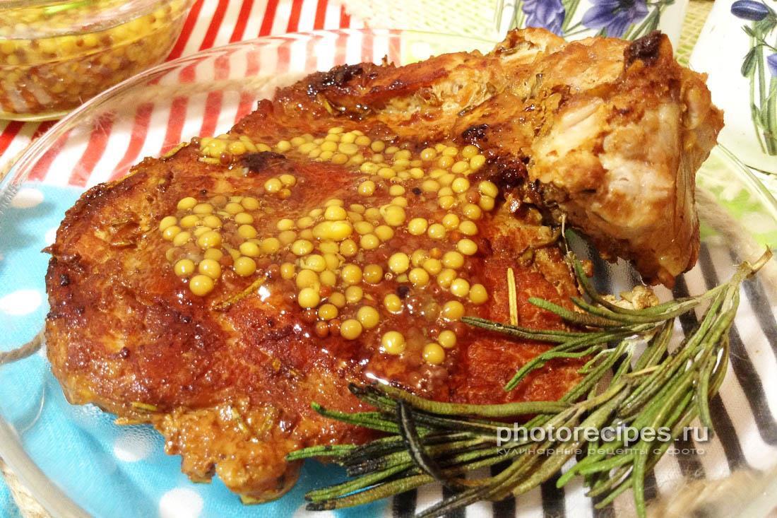 Стейк из свиной корейки