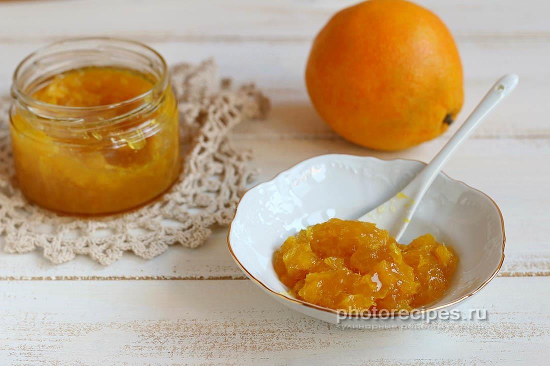 Апельсиновый конфитюр с ромом