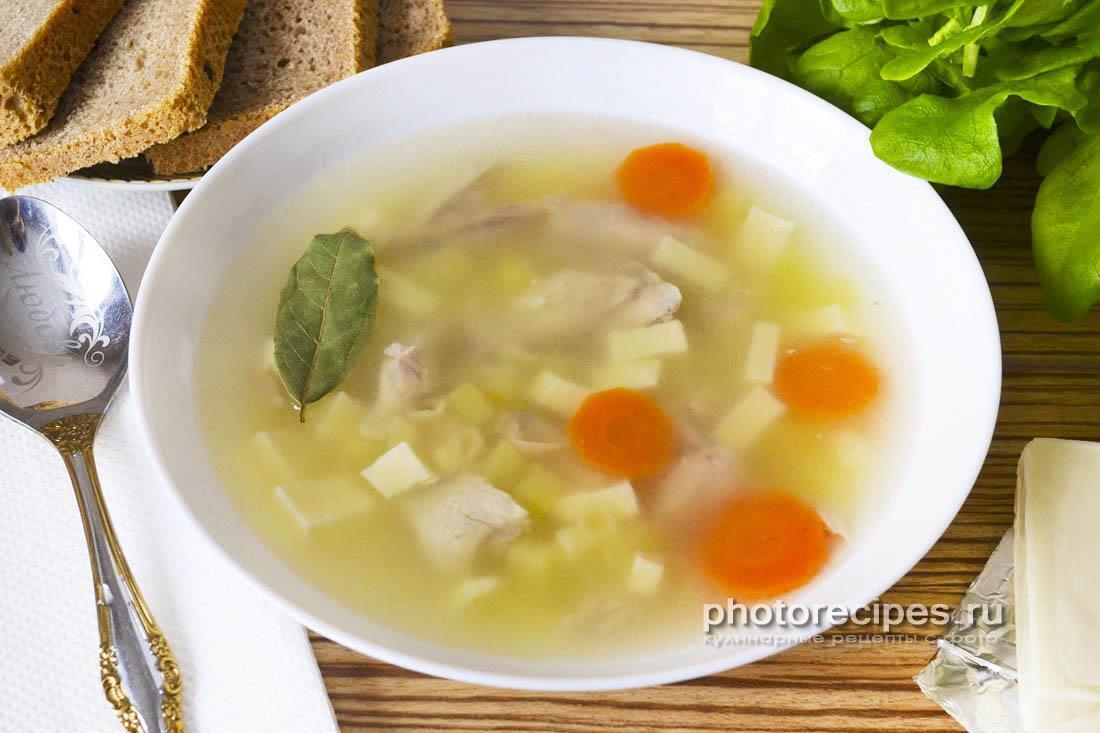 Суп из сырков
