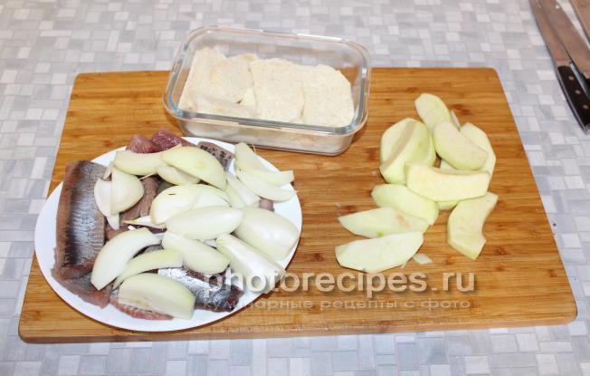 Форшмак из сельди  классический рецепт с пошаговыми фото