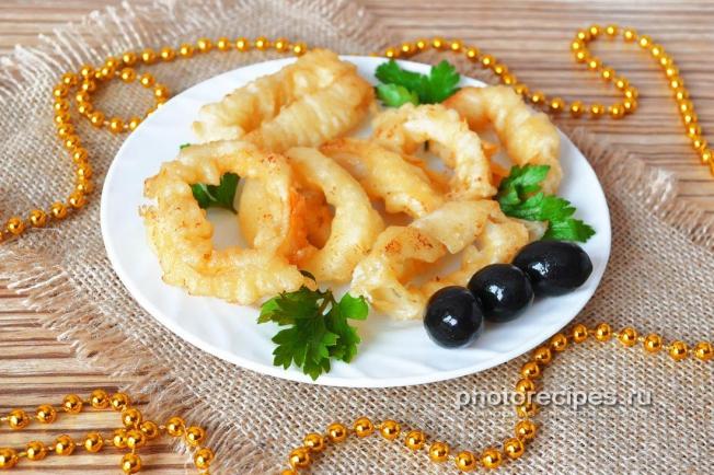 Готовим кальмаров рецепты с фото