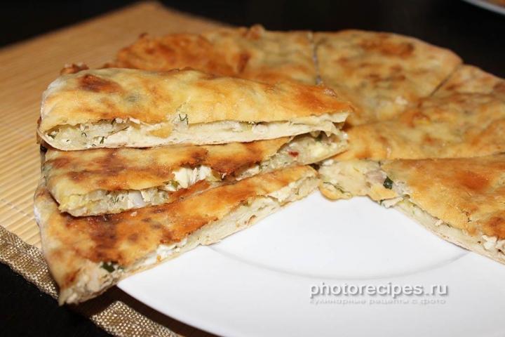 Осетинские пироги с капустой рецепт с фото пошагово